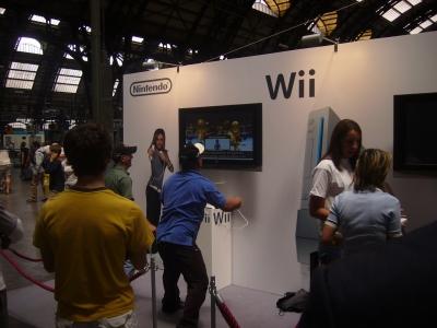 Wii-Marketing-Aktion im Mailänder Hauptbahnhof