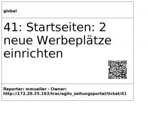 QR-Codes zur einfachen Aktualisierung eines Taskboards (Foto: Matthias Müller)