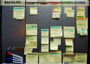 Taskboard at home
